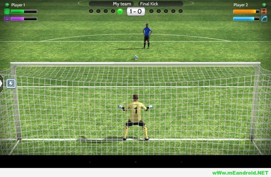 تحميل لعبه Final kick Apk Mod v4.9 معدله + ملف الداتا