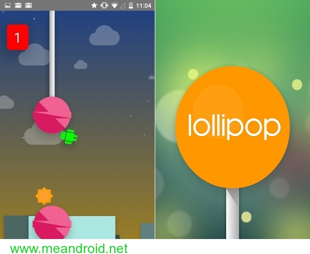 Android 5.0 Lollipop ROM Galaxy Ace S5830i screenshot 2