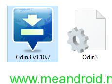 ODIN Icon طريقه عمل الروت لهاتف samsung GT N5120