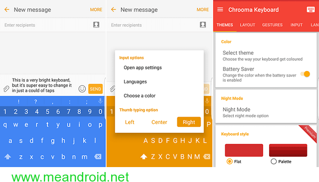 Chrooma افضل تطبيقات لوحات المفاتيح للاندرويد 2018