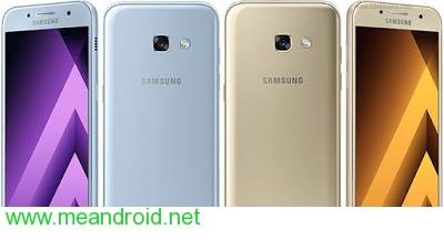 تركيب روم اندرويد 7.0 نوجا الرسمي لجهاز Samsung Galaxy A3 2017 SM-A320F