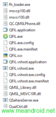 qfil files شرح استخدام Qualcomm Flash Image Loader QFIL