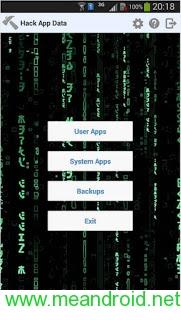 تحميل وشرح تطبيق Hack APP Data v1.9.10 Mod APK برابط مباشر