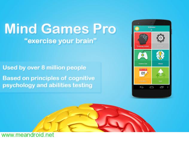 تحميل لعبه ألعاب العقل النسخة المدفوعة Mind Games Pro v2.8.6 APK