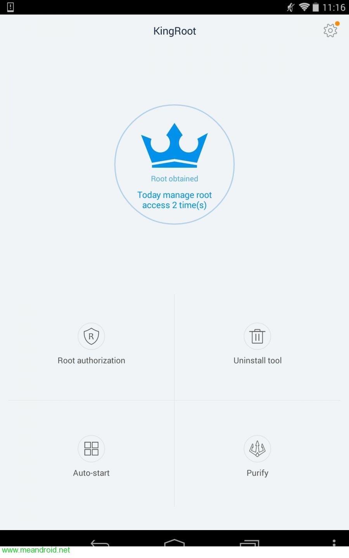 فتح تطبيق كينج روت 1 شرح عمل روت لجهاز Sony Tablet S 3G بدون كمبيوتر