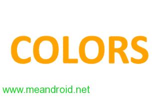 تحميل جميع رومات Colors الرسمية فلاشات اصلية روابط مباشرة
