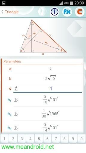 برنامج حل المعادلات الهندسيه Geometry Solver Pro v1.27 للاندرويد