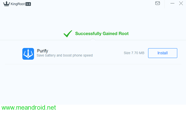 kingroot root successfully 1 شرح عمل روت لجهاز Sony Xperia Z3 Compact بدون كمبيوتر