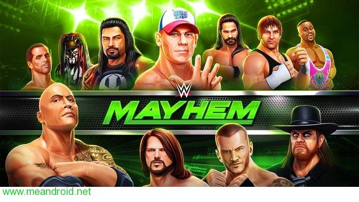 screen 0 3 تحميل لعبه WWE Mayhem 1.1.31 للاندرويد روابط مباشرة
