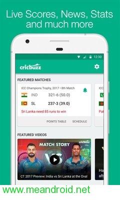 تحميل لعبه Cricbuzz - Live Cricket Scores & News v 4.3.011 APK للاندرويد روابط مباشرة