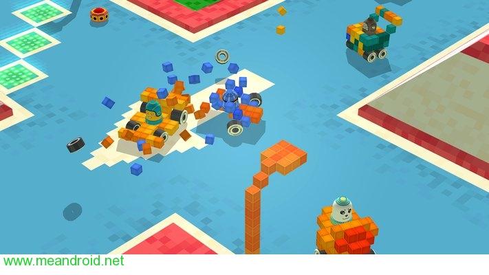 تحميل لعبه Blocky Racing V 1.0 للاندرويد روابط مباشرة