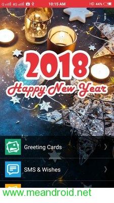 screen 0 54 تحميل تطبيق New Year SMS & Wishes 2018 V4.0.3 APK برابط مباشر