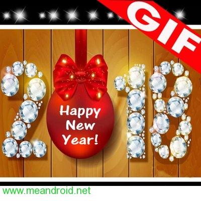 تحميل تطبيق New Year GIF 2018V1.0 برابط مباشر
