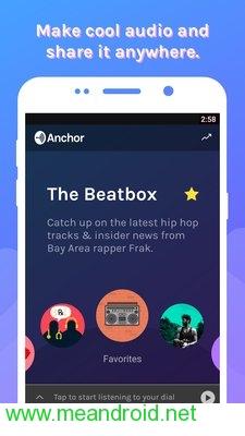 screen 0 59 تحميل تطبيق Anchor   Podcast & Radio V2.17.3 APK برابط مباشر