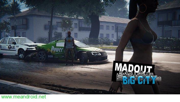 تحميل لعبه MadOut2 BigCityOnline  V 3.8 APK للاندرويد روابط مباشرة