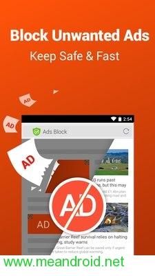 تحميل تطبيق CM Browser - Ad Blocker , Fast Download , Privacy APK برابط مباشر