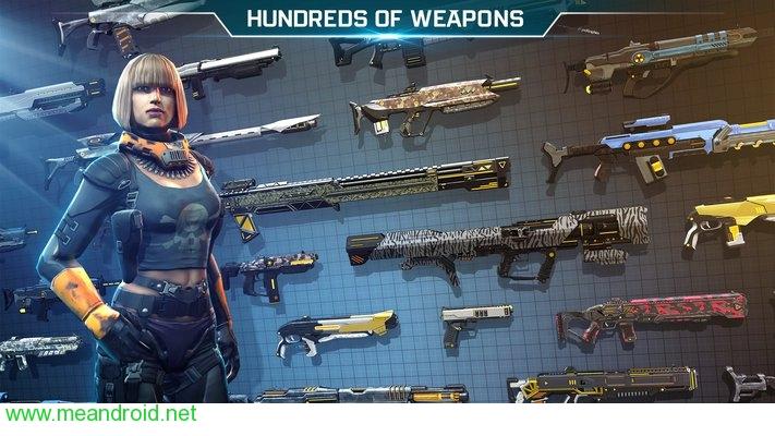 تحميل لعبه Shadowgun Legends للاندرويد روابط مباشرة