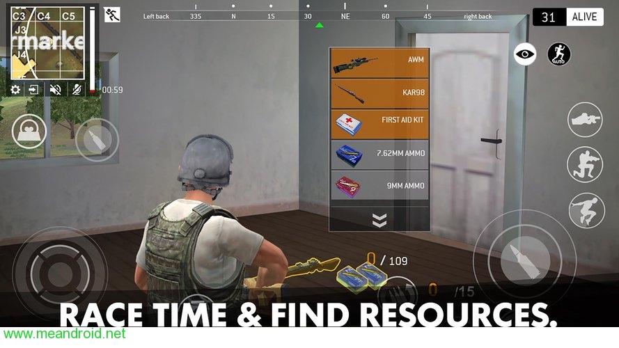 تحميل لعبه Last Battleground: Survival V1.1.1 للاندرويد روابط مباشرة