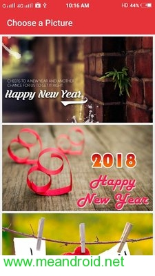 screen 1 54 تحميل تطبيق New Year SMS & Wishes 2018 V4.0.3 APK برابط مباشر