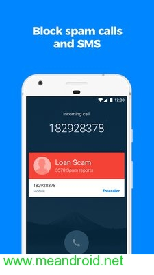 screen 1 84 تحميل تطبيق Truecaller: Caller ID, SMS spam blocking & Dialer APK برابط مباشر