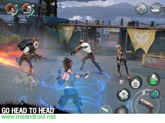تحميل لعبه Dead Rivals V0.6.0 مرفوعه جوجل درايف