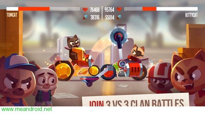 screen 2 80 تحميل لعبه CATS: Crash Arena Turbo Stars APK للاندرويد روابط مباشرة
