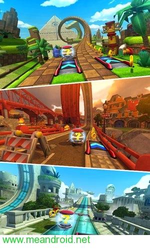 تحميل لعبه Sonic Forces: Speed Battle V1.4.1APK للاندرويد روابط مباشرة