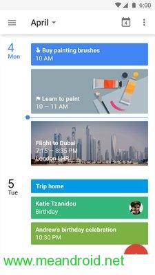 screen 0 50 تحميل تطبيق Google Calendar V 5.8.16APK برابط مباشر