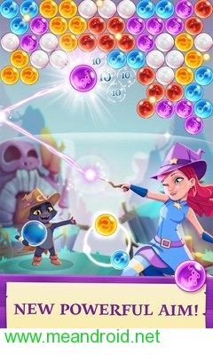screen 0 56 تحميل لعبه Bubble Witch 3 Saga V 4.2.7 APK للاندرويد روابط مباشرة