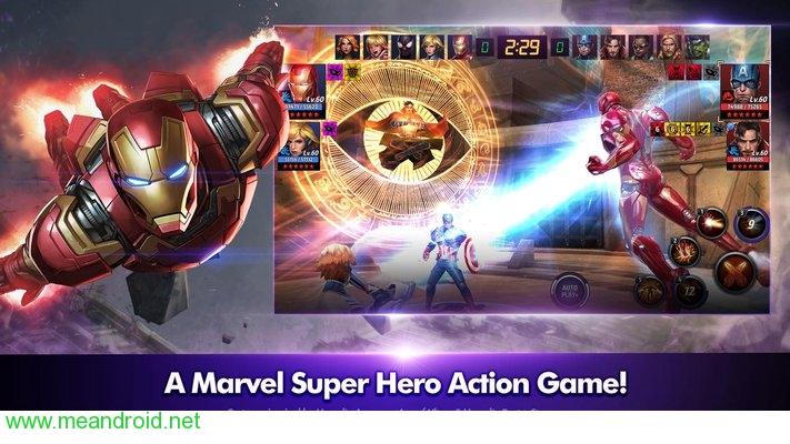تحميل لعبه MARVEL Future Fight V3.8.0APK للاندرويد روابط مباشرة