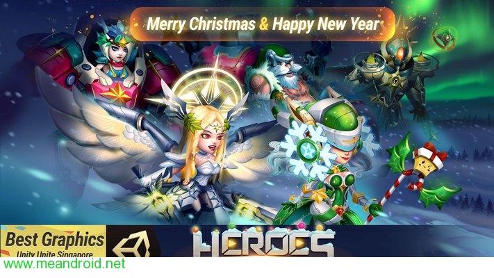screen 1 110 تحميل لعبه Heroes Infinity: Gods Future Fight V 1.15.3APK للاندرويد روابط مباشرة