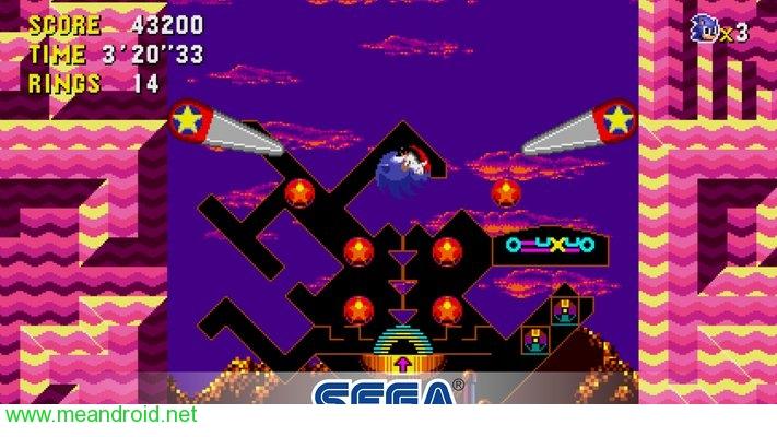 screen 1 24 تحميل لعبه Sonic CD Classic V 1.0.0 للاندرويد روابط مباشرة