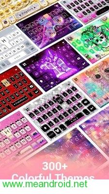 تحميل تطبيق Kika Keyboard - Emoji Keyboard, Emoticon, GIF APK برابط مباشر