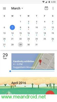 screen 1 46 تحميل تطبيق Google Calendar V 5.8.16APK برابط مباشر
