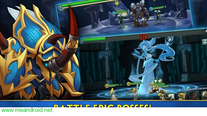 تحميل لعبه Alliance: Heroes of the Spire  V58148APK للاندرويد روابط مباشرة