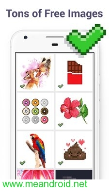 screen 1 74 تحميل تطبيق Pixel Art Color by Number Book V2.1.2 برابط مباشر
