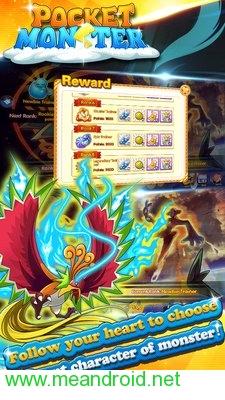 screen 1 92 تحميل لعبه Pocket Monster : Duel V 1.0.4 APK للاندرويد روابط مباشرة
