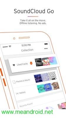 screen 2 10 تحميل تطبيق SoundCloud   Music & Audio APK برابط مباشر