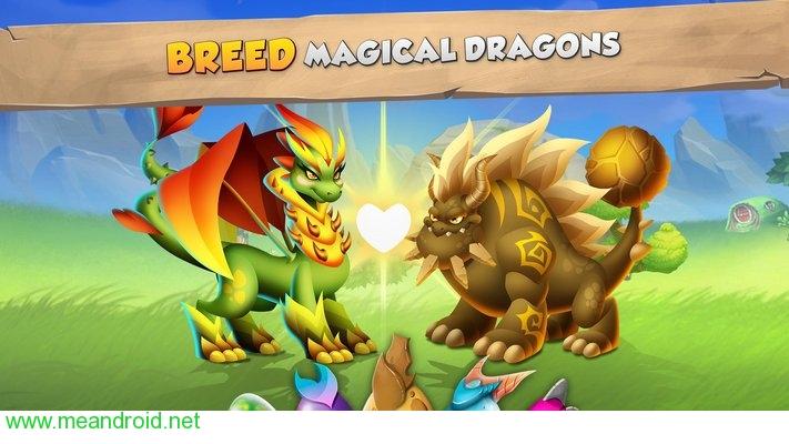 تحميل لعبه Dragon City V 6.1 APK للاندرويد روابط مباشرة
