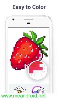 screen 2 74 تحميل تطبيق Pixel Art Color by Number Book V2.1.2 برابط مباشر