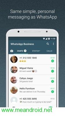تحميل تطبيق WhatsApp Business V 2.18.13 برابط مباشر