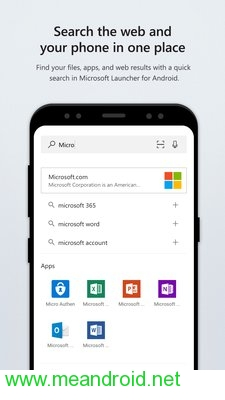 تحميل تطبيق Microsoft Launcher V4.6.0.4 APK برابط مباشر