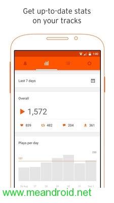 screen 3 4 تحميل تطبيق SoundCloud Pulse: for Creators APK برابط مباشر
