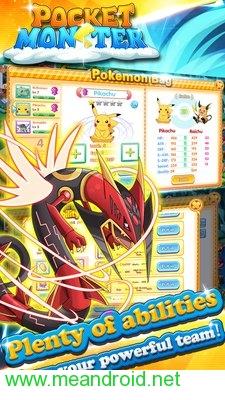 screen 3 42 تحميل لعبه Pocket Monster : Duel V 1.0.4 APK للاندرويد روابط مباشرة