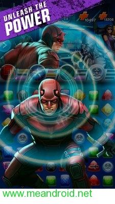 تحميل لعبه Marvel Puzzle Quest V145APK للاندرويد روابط مباشرة