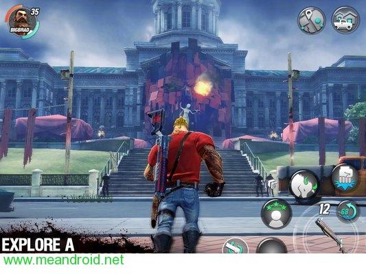 screen 3 8 تحميل لعبه Dead Rivals Zombie MMO (Unreleased للاندرويد روابط مباشرة