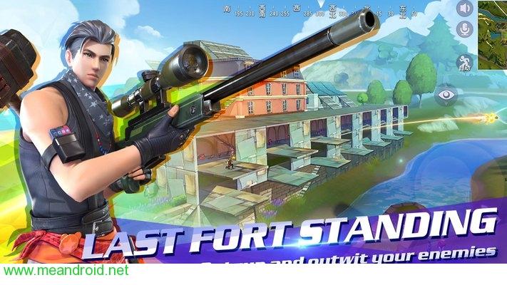 تحميل لعبه FortCraft Unreleased V0.10 للاندرويد روابط مباشرة