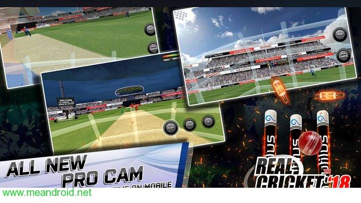 تحميل لعبه Real Cricket™ 18 Unreleased V1.2 للاندرويد روابط مباشرة